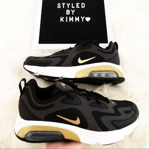 🌸 NIKE AIR MAX 200 Sneakers New Shoes NEW Black